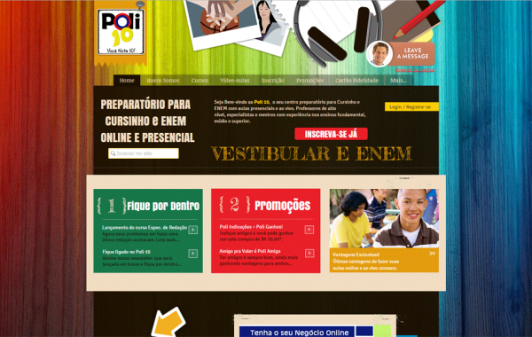 Site Customizado – Poli 10